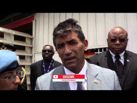Visite du vice président de l'Uruguay au Nord Kivu-RDC