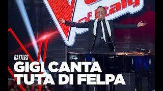 "Gigi D'Alessio ""Tuta di felpa"" - Battles - TVOI 2019"