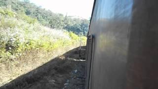 Lumding YDM4 6110 notching up with Hill Queen Express from Kalachand, Assam.avi