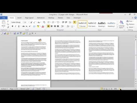 Way to Shrink a Whole Page on Word : MS Word Skills