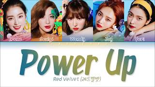 RED VELVET (레드벨벳) - 'POWER UP' Lyrics (Color Coded Eng/Rom/Han/가사)