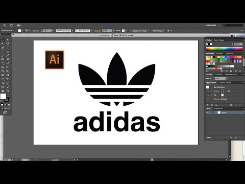 adidas Logo Design || Illustrator Tutorial
