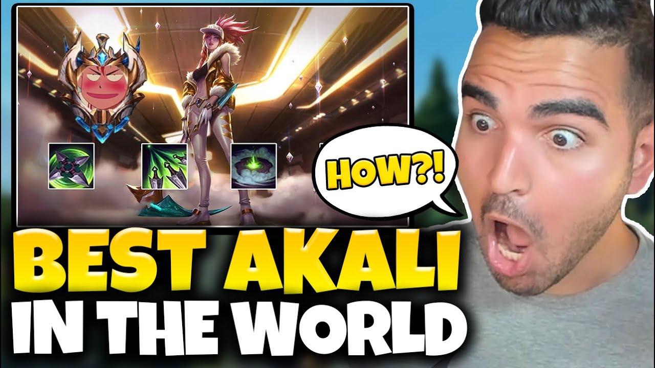 This Chinese SUPER SERVER Akali is INSANE! (NEW MECHANICS) Chinese Challenger Akali Montage