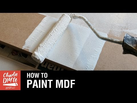 How to Paint MDF - Video #1