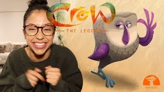 OUR FREE ANIMATED MOVIE! CROW: THE LEGEND | John Legend, Oprah, Liza Koshy thumbnail