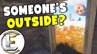 Building A Settlement Someone's Outside - Rust Solo Survival Life EP 1