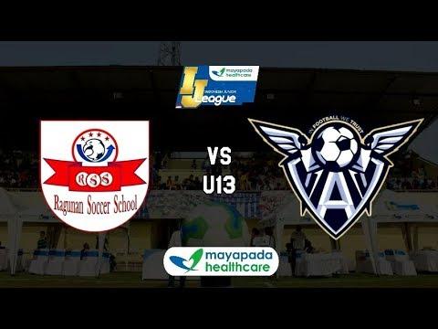 Ragunan Soccer School vs Abstrax FA [Indonesia Junior Mayapada League 2019] [U13] 13-1-2019