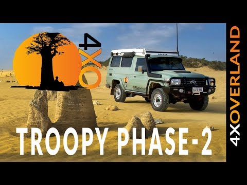 TOYOTA LAND CRUISER TROOPY BUILD - phase-2 begins