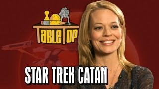 Star Trek Catan: Jeri Ryan, Kari Wahlgren, and Ryan Wheaton join Wil on TableTop SE2E08