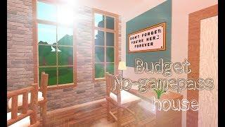 Roblox Bloxburg   Budget No gamepasses House 14k   House Build