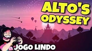 JOGO MAIS LINDO PRA ANDROID | Altos Odyssey | Gameplay em Português PT-BR
