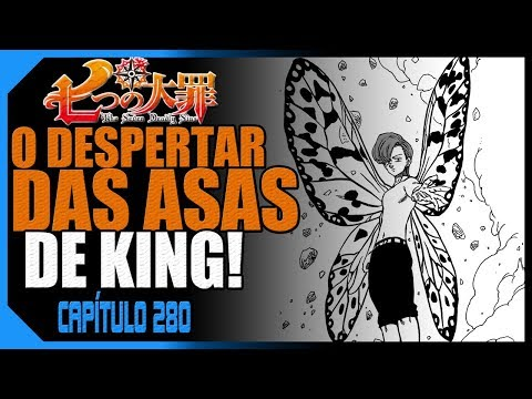 11. MANGÁ NANATSU NO TAIZAI 280 - As Asas de King! (Review & Análise)