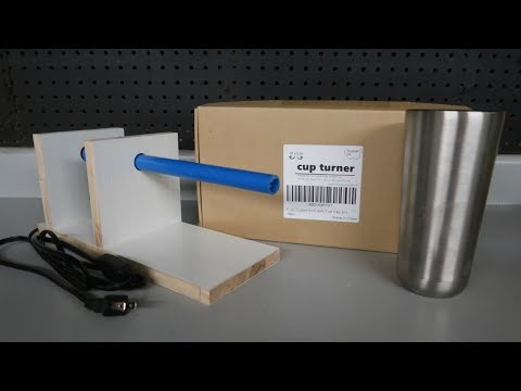 """Ready To Build Cup Turner 