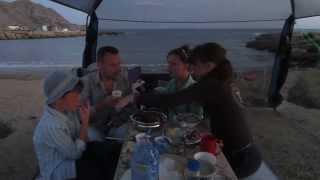 Крым Черное море отдых мыс Меганом автокемпинг Crimea Black sea Cape Meganom camping(17-19.07.2015 г. семейный отдых., 2015-07-22T03:16:34.000Z)