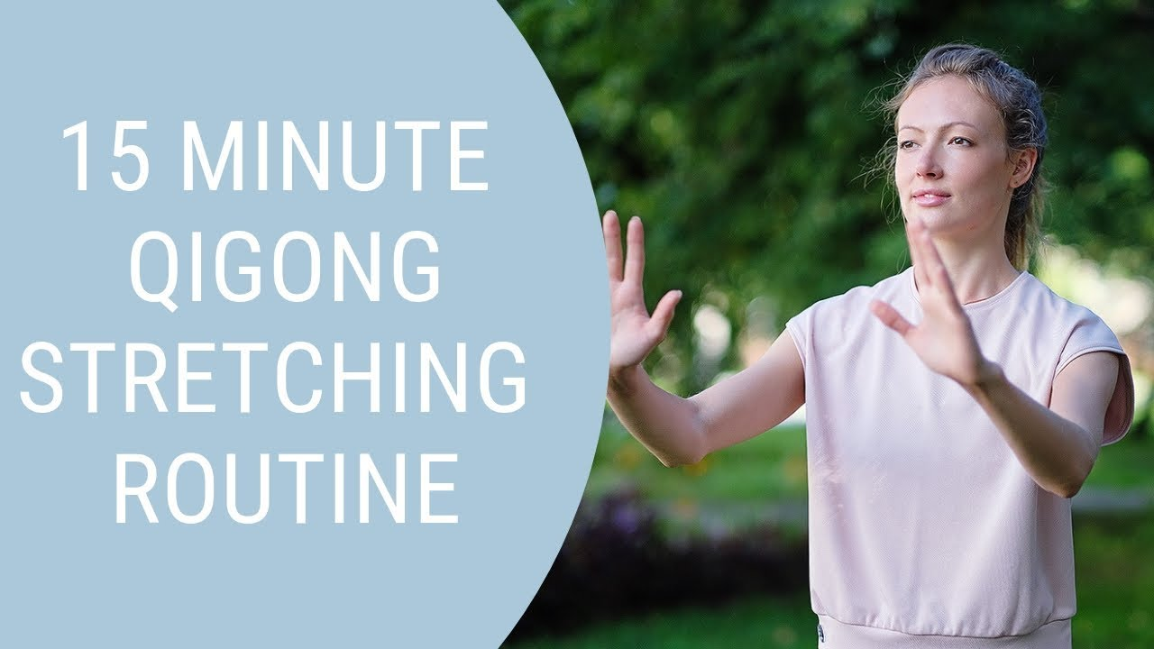 15 minute Qigong - Gentle Stretching Exercises - Easy Exercises for Seniors  - Yoga alternatives