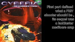 Dos Madness | Cyberia 2 -  Resurrection (1996) first part defined what an FMV shooter should be ....