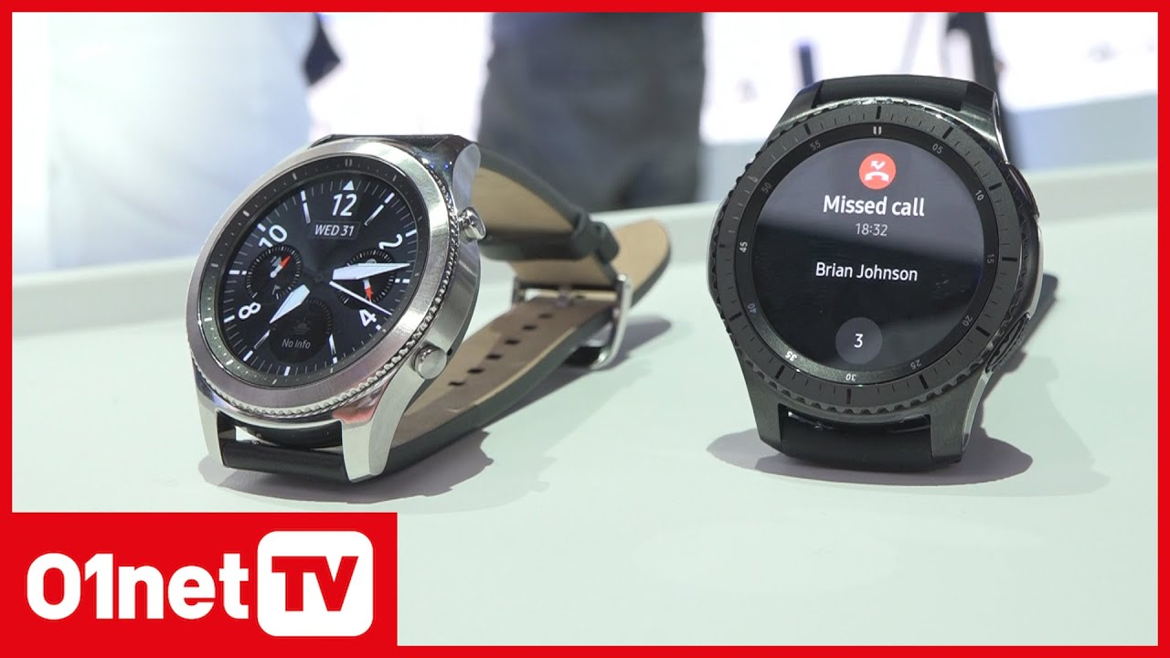samsung gear s3 l 39 imposante montre de samsung ifa 2016 youtube