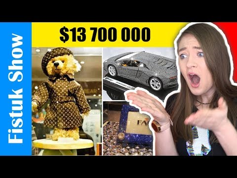 הצעצועים הכי יקרים בעולם! טופ 10 צעצועים שהפתיעו אותי היום