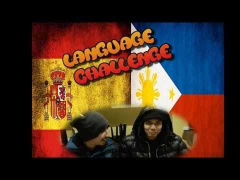 STANDARD SPANISH VS TAGALOG Language Challenge #1