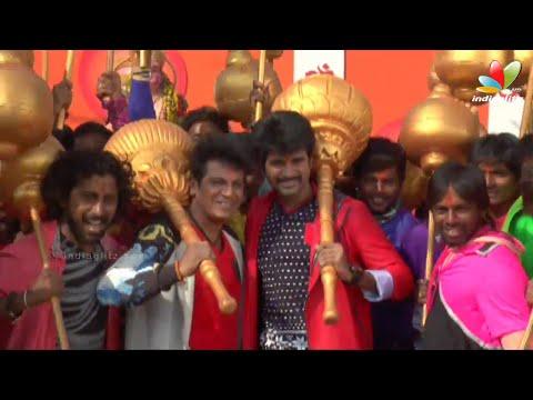 Vajrakaya Song Making | Shivaraj Kumar, Dhanush, Sivakarthikeyan,Mass maharaja Raviteja,Dileep