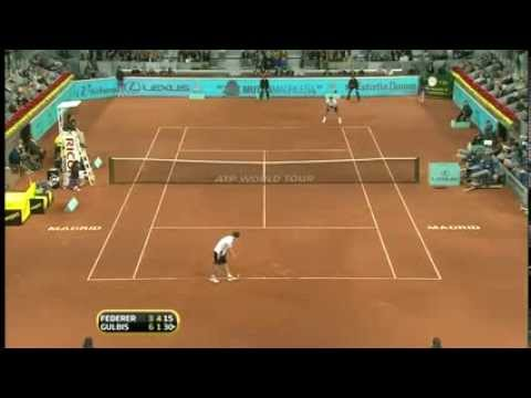 Roger Federer AMAZING Head Fake MUST WATCH vs. Gulbis