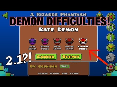 Geometry Dash World Demon Difficulties And More Youtube
