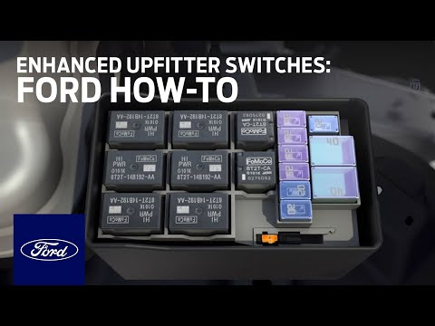 Enhanced Upfitter Switches Ford How-To Ford - YouTube