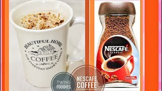 BEST Nescafe Hot Coffee Recipe// How To Make Cafe Style HOT NESCAFE COFFEE // BT PREETI SEHDEV