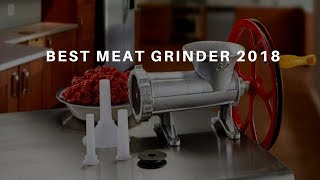Best Meat Grinders | Top 10 Meat Grinders 2018 (NEW)