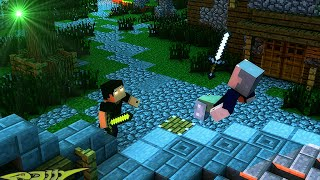 Minecraft: XMAS WITHER CHALLENGE GAMES | minecraft story mode | minecraft school
