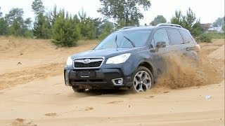 Subaru Forester Turbo проверка на бездорожье(Полный тест-драйв http://journal.am.ru/videos/2014-06-05-lesnik-s-ulitkoy-test-drayv-subaru-forester.html http://vk.com/antonavtoman Добавляйтесь в друзья!, 2014-06-13T10:40:32.000Z)