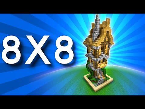 Construction Minecraft De 8x8 Blocs, Vraiment Possible?