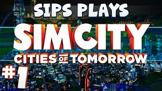 Simcity - Cities of Tomorrow (Full Walkthrough) - Part 1 - Welcome to Tape Crinity