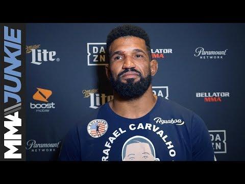Bellator 224: Rafael Carvalho full post-fight interview