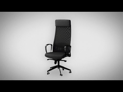 Ikea markus la silla de pc ergon mica calidad precio - Silla markus ikea ...