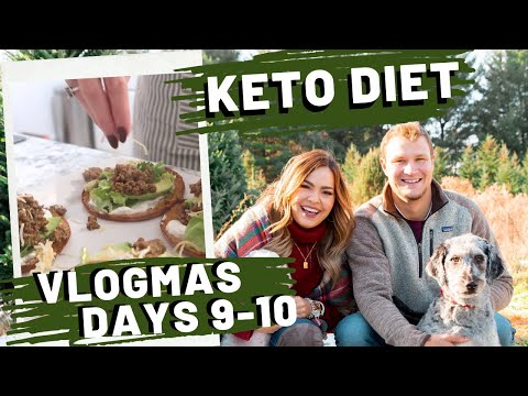 VLOGMAS Days 9-10 | The One With The KETO Diet | What I Eat In A Day