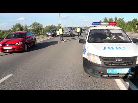 Машина сбила подростка на Камском мосту