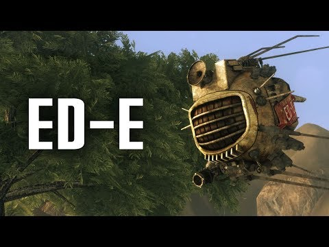 ED-E: The Most Interesting Eyebot in the Wasteland - Fallout New Vegas Lore