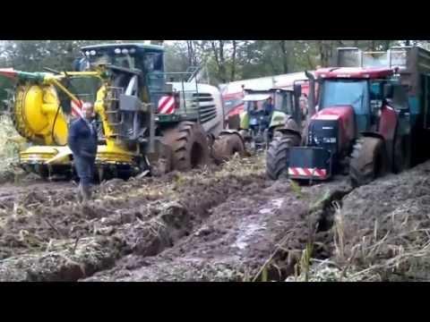 Ensilage Maiis 2012 Dans La Boue