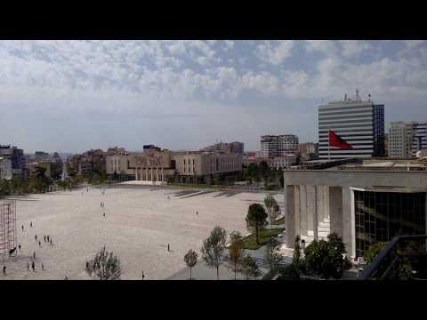 Skanderbeg Square, Tirana, Albania: 29/6/17