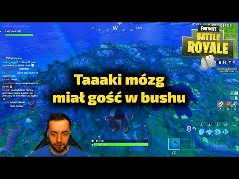 Taaaki spryciarz w bushu - Fortnite Gra Battle Royale Gameplay