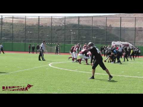 Türk Amerikan Futbol - Bandırma Jets 2017 Defensive and Special Teams Highlights