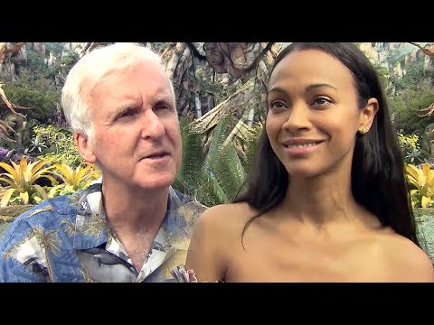 James Cameron, Zoe Saldana, Bob Iger talk Pandora - The World of Avatar