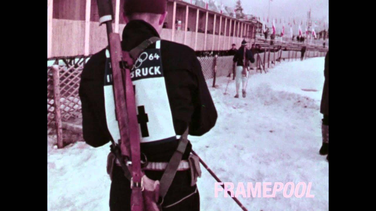 Olympic Winter Games Innsbruck 1964 Color Hd Newsreel Footage