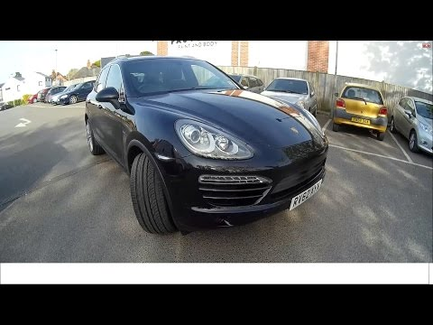 VLOG3 обзор Porsche Cayenne 2013 + Английский автосервис