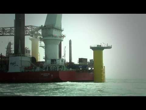 London Array Foundation and Turbine Installation