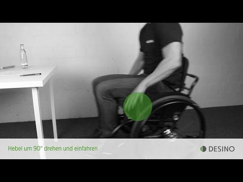 Lesson 03 - Tisch: Richtig Rolli-Fahren mit den Hebelrollstühlen radius und medius