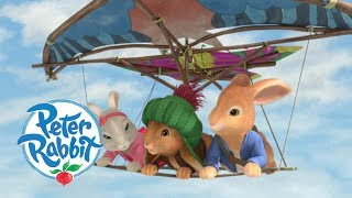 #StayHome Peter Rabbit - Peter Goes Handgliding   Cartoons for Kids