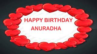 Anuradha   Birthday Postcards & Postales - Happy Birthday