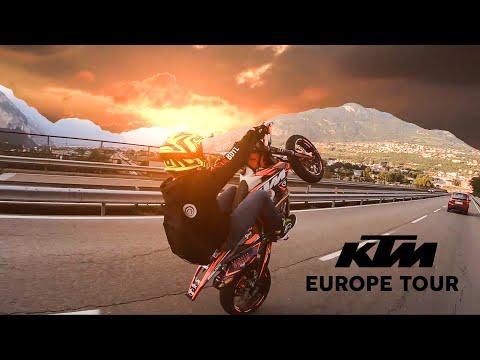 Exploring Europe KTM SUPERMOTO | Italy Tour 2019 [NTK EDIT]